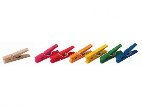 Mini-Wäscheklammern, Holz