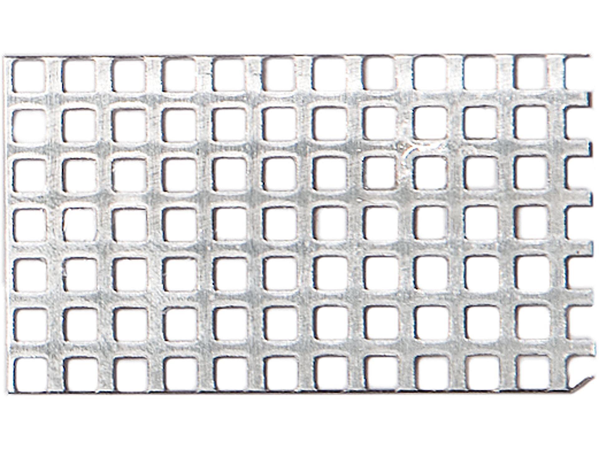 Aluminium Feinlochblech, Quadratloch