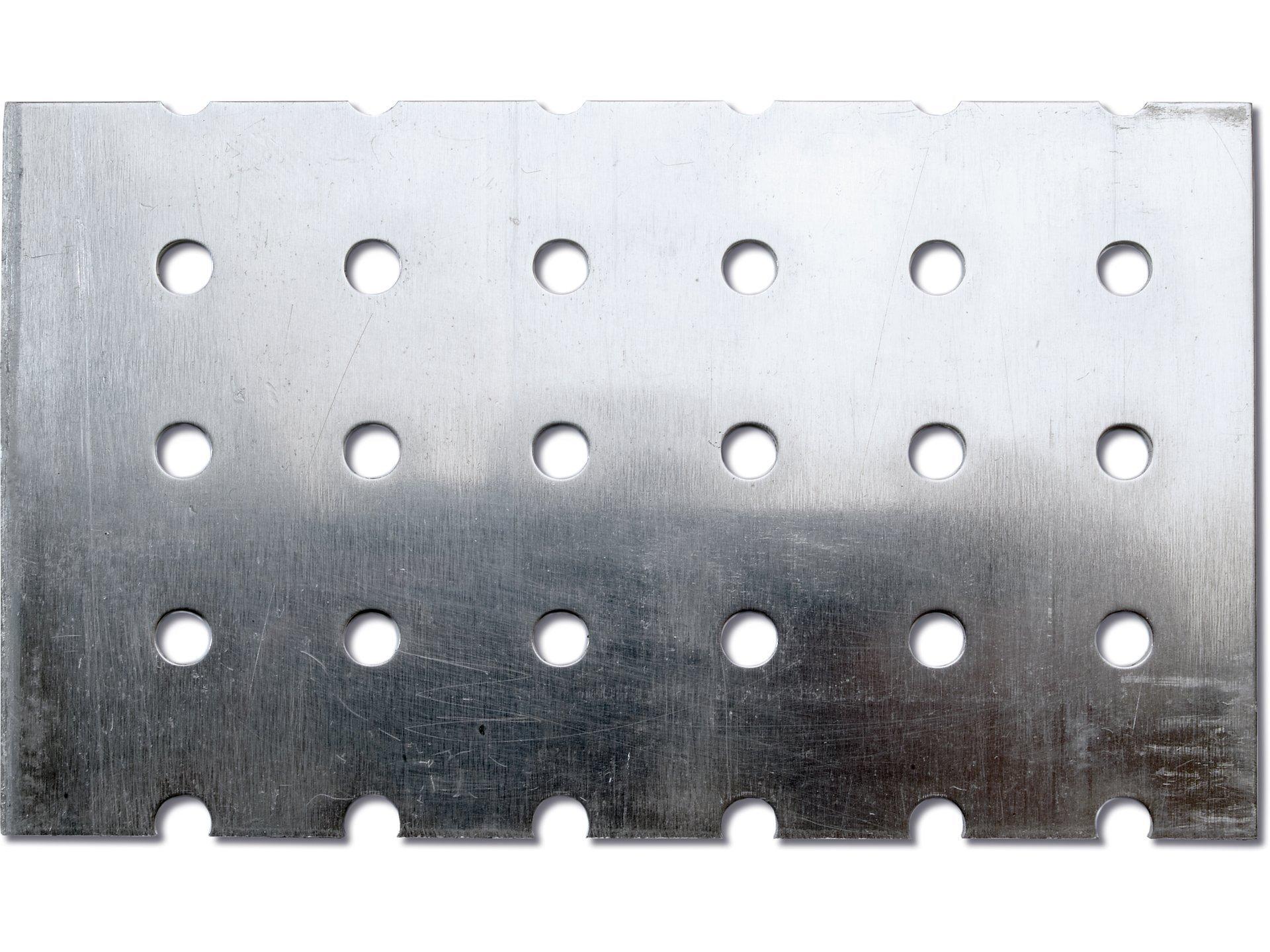 Aluminium Rundloch, gerade im Zuschnitt
