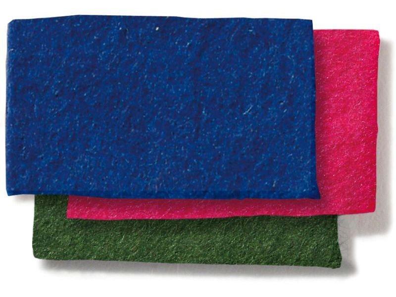 70% Wollfilz, farbig, 3 mm