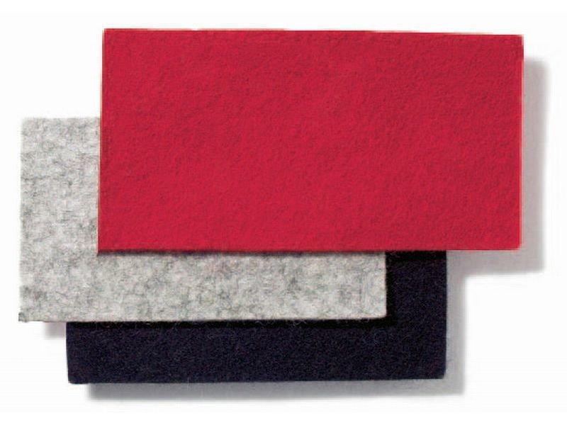 100% Wollfilz, farbig, 2 mm