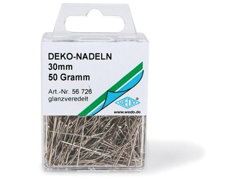 Deko-Stecknadel, Eisen/Stahl