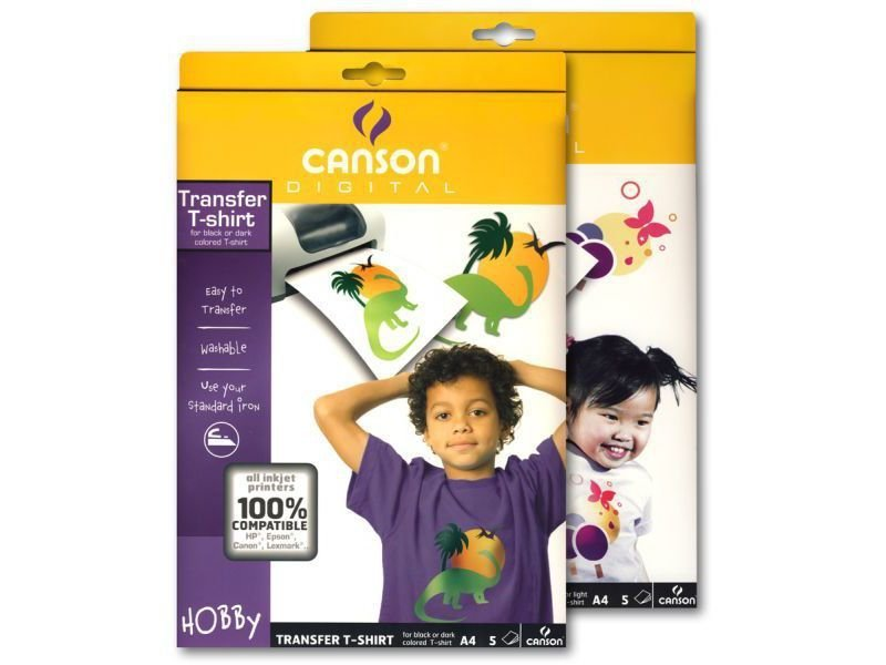 Canson T-Shirt Transfer-Ink-Jet-Folie