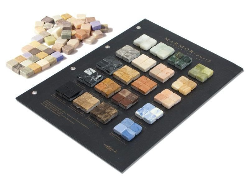 Marmor Mosaiksteine