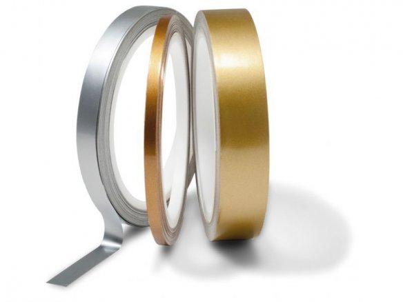 Metallic-Klebeband farbig, glänzend