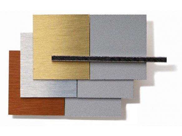 dibond alu pe verbundplatte geschliffen im zuschnitt kaufen modulor. Black Bedroom Furniture Sets. Home Design Ideas