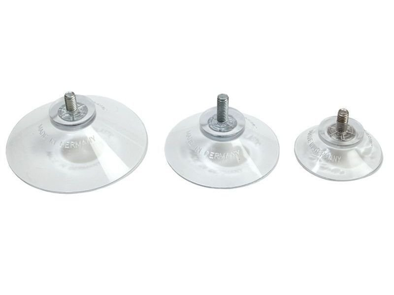 Buy suction cup with threaded screw online at modulor for Ventosas para cristales