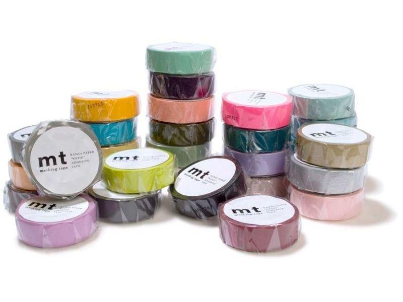 mt 1p basic masking tape washi klebeband uni. Black Bedroom Furniture Sets. Home Design Ideas