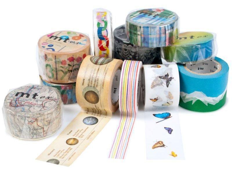 mt extra masking tape washi klebeband gemustert kaufen. Black Bedroom Furniture Sets. Home Design Ideas