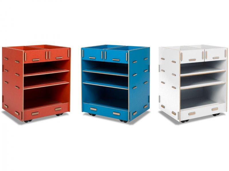 modulor kinder rollcontainer 45 l kaufen modulor. Black Bedroom Furniture Sets. Home Design Ideas