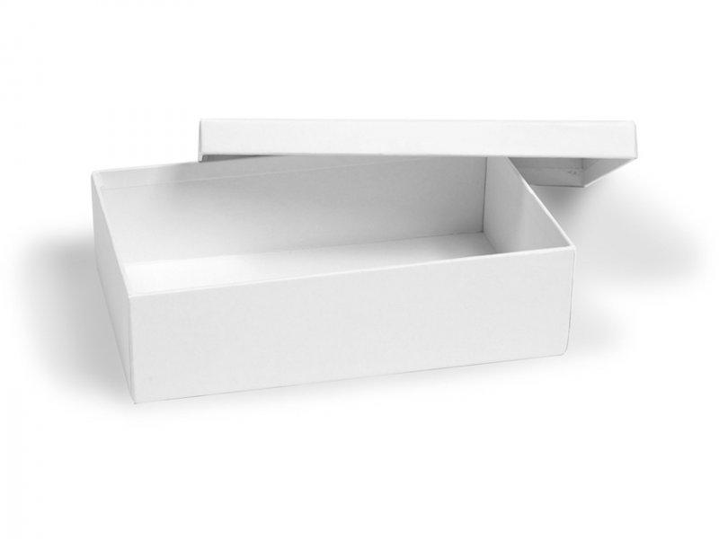 rechteckige pappschachtel roh wei kaufen modulor. Black Bedroom Furniture Sets. Home Design Ideas