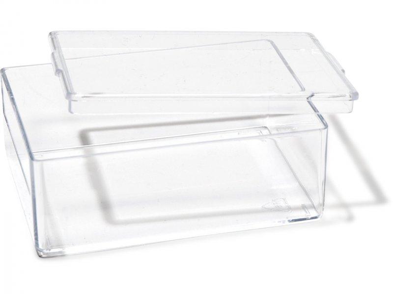 kunststoffdosen transparent rechteckig kaufen modulor. Black Bedroom Furniture Sets. Home Design Ideas