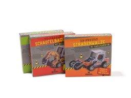 3D puzzle, road roller