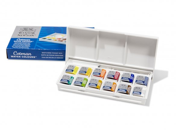 Winsor & Newton Cotman watercolour paints