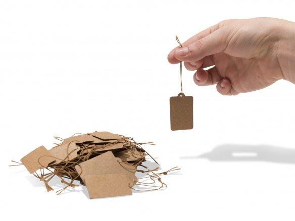 Cardboard tags