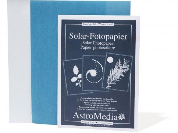 Solar photo paper
