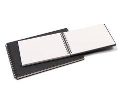 Seawhite Hardcover watercolour sketchbook, white, 350 g/m²