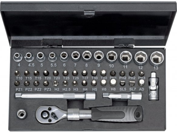WGB socket set, 45 pieces
