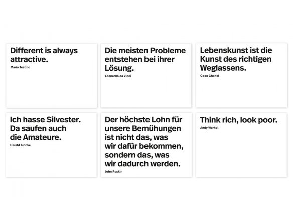 Buy Hardcover Block Of Postcards Einhundert Zitate Online