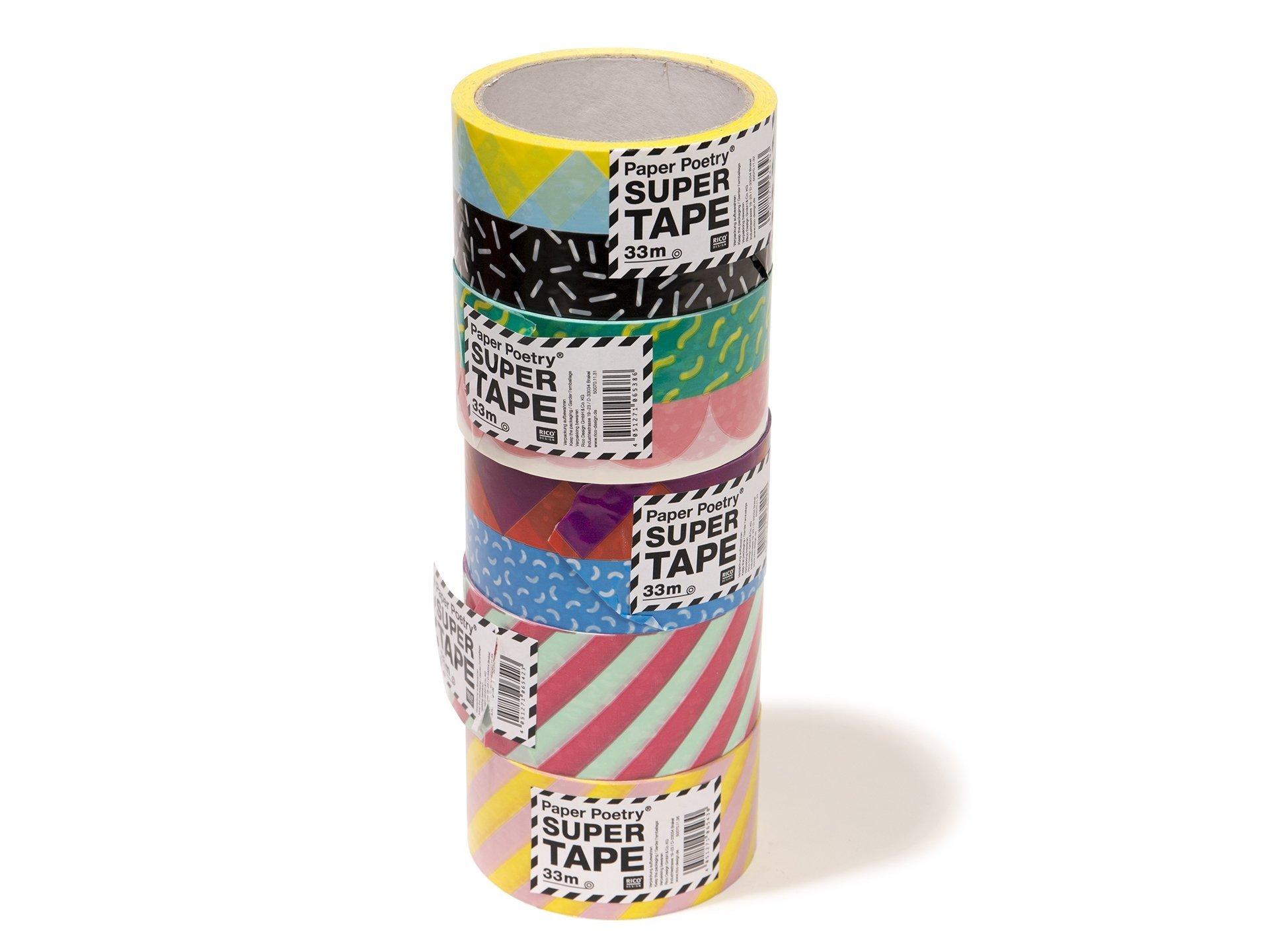 paper poetry deko-paketklebeband kaufen | modulor
