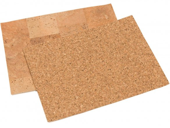 Cork paper, self-adhesive