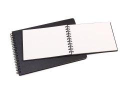 Seawhite Hardcover watercolour sketchbook, white, 220 g/m²