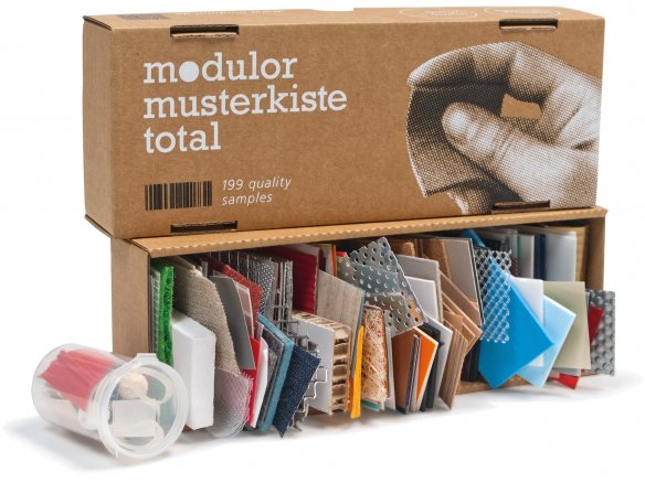 Modulor Sample Box