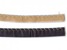 Prym imitation leather piping strip, non-elastic