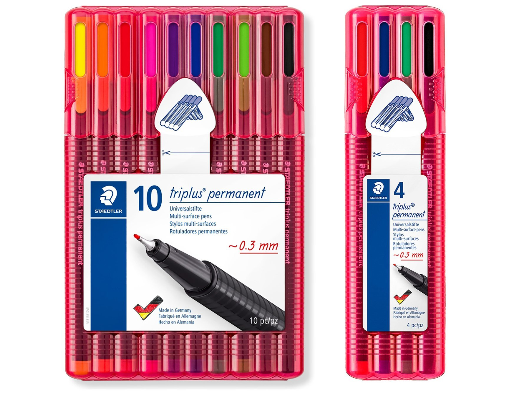 Fineliner Set con scatola Staedtler Pigment Liner