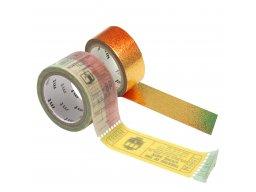 Mt Fab Masking Tape, Washi adhes. tape, patterned