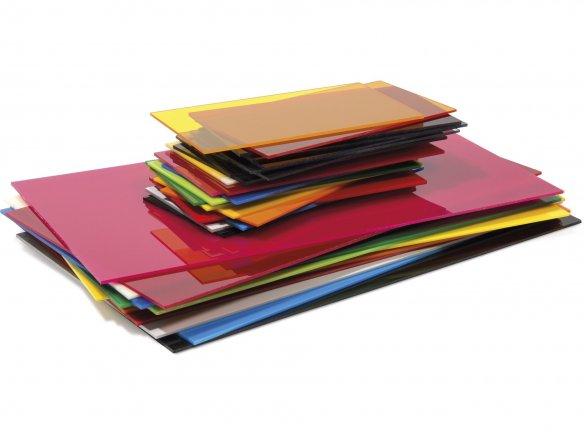 Plexiglas GS farbig, 3 mm im Zuschnitt