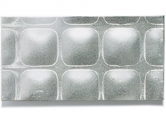 Aluminium square-patterned sheets custom cutting
