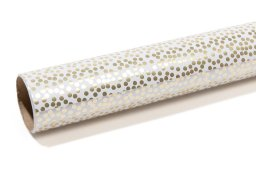 Minidots gift wrap paper roll