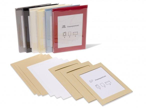 Artoz 1001 DIN B6 Passepartout-Set, farbig