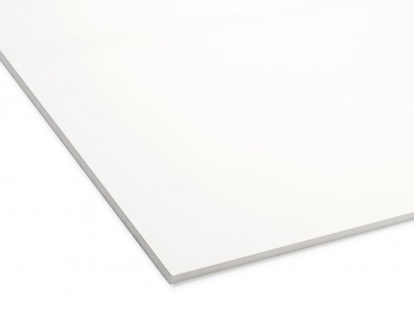 Viscom Fix  lightweight foam sheet, self-adhes.,white