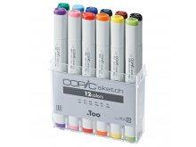 Copic Sketch Sets, 12er-Set