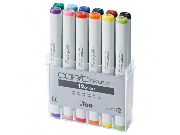 Copic Sketch sets, set of 12