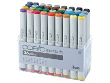 Copic Sketch Sets, 36er-Set