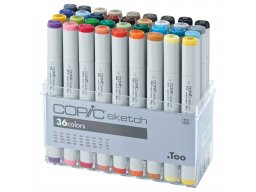 Copic Sketch sets, set of 36