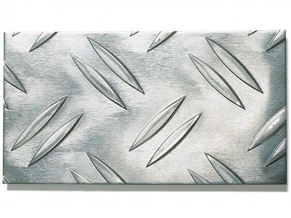Aluminium Raupenblech, Duett W2 im Zuschnitt
