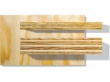 Seekiefer Sperrholz im Zuschnitt