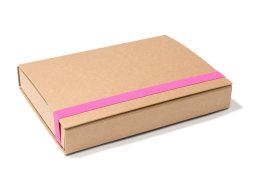 Veloflex cardboard storage box, Kraft paper