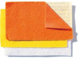 Handicraft and decoration felt, coloured, sheet