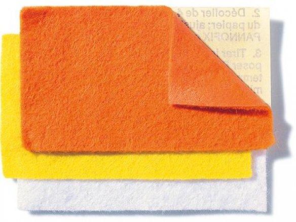 Bastel- und Dekofilz selbstklebend, farbig, Bogen