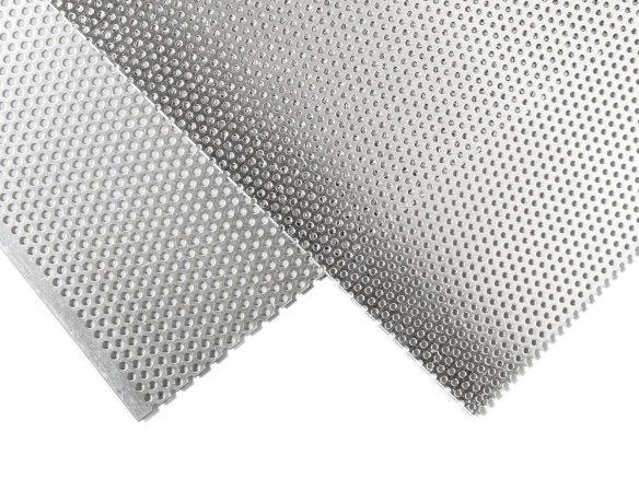 Aluminium fine perforted plate, round hole