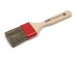 Clou staining brush, flat, natural bristles