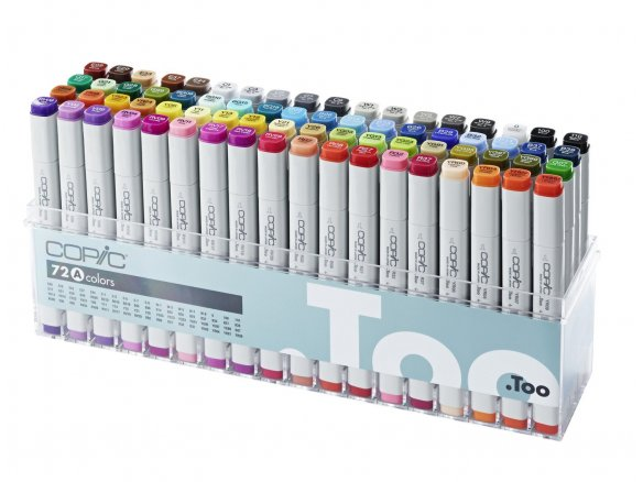 Copic Marker, set of 72