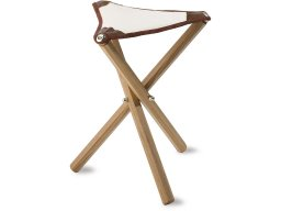 Artist stool, beechwood, cotton seat