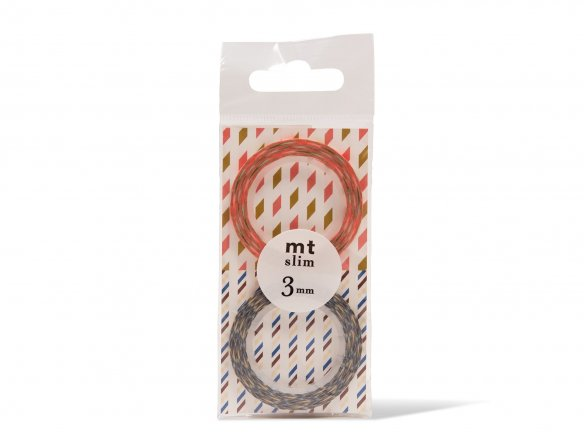 Mt. Slim 3 mm Washi patterned masking tape