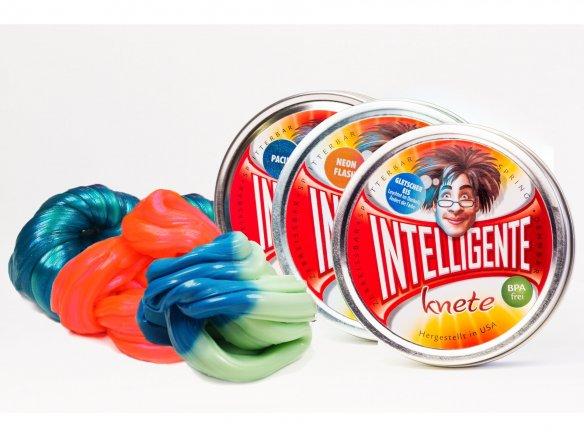 Intelligente Knete - Ändert die Farbe